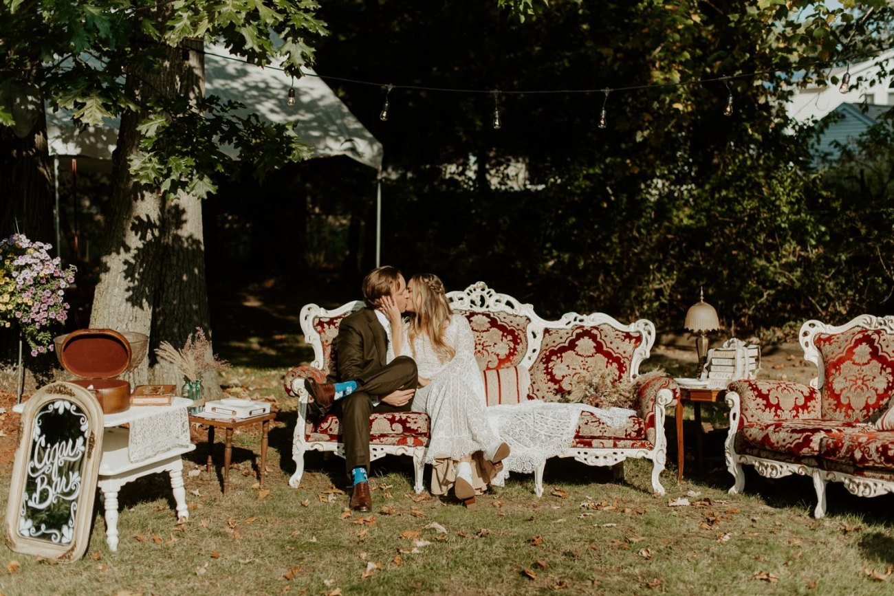 Vintage Boho Diy Backyard Wedding In New Jersey Anais Possamai Photography 091