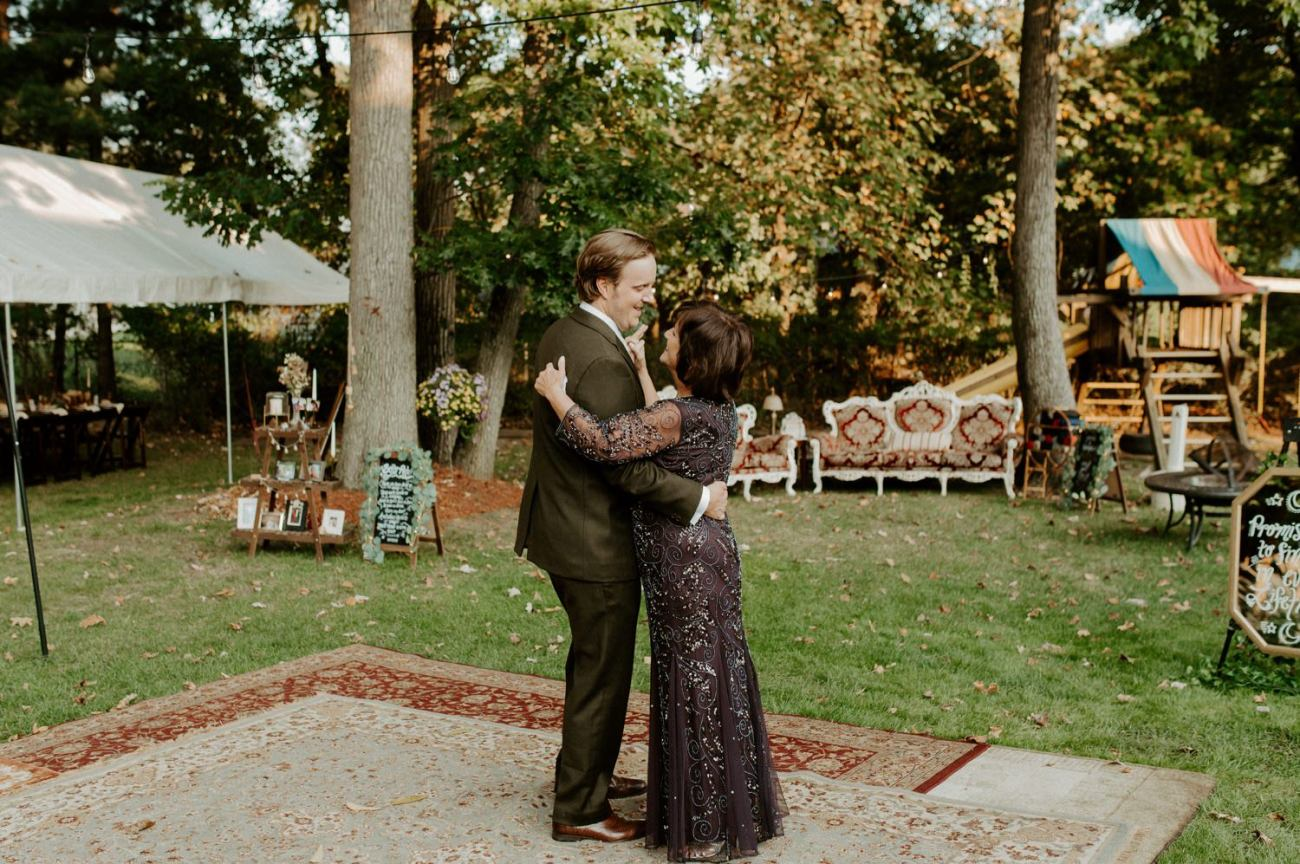 Vintage Boho Diy Backyard Wedding In New Jersey Anais Possamai Photography 097
