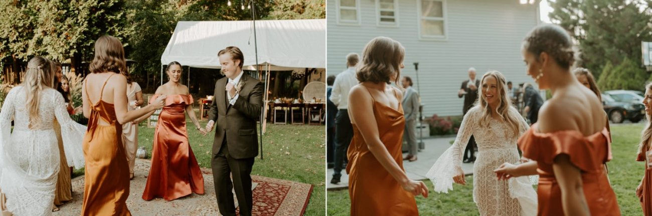 Vintage Boho Diy Backyard Wedding In New Jersey Anais Possamai Photography 099