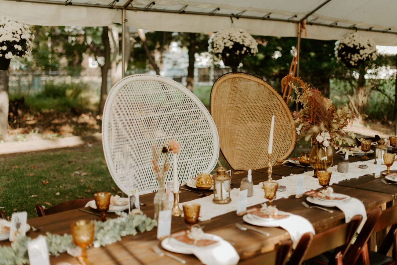 Vintage Boho Diy Backyard Wedding In New Jersey Anais Possamai Photography 106