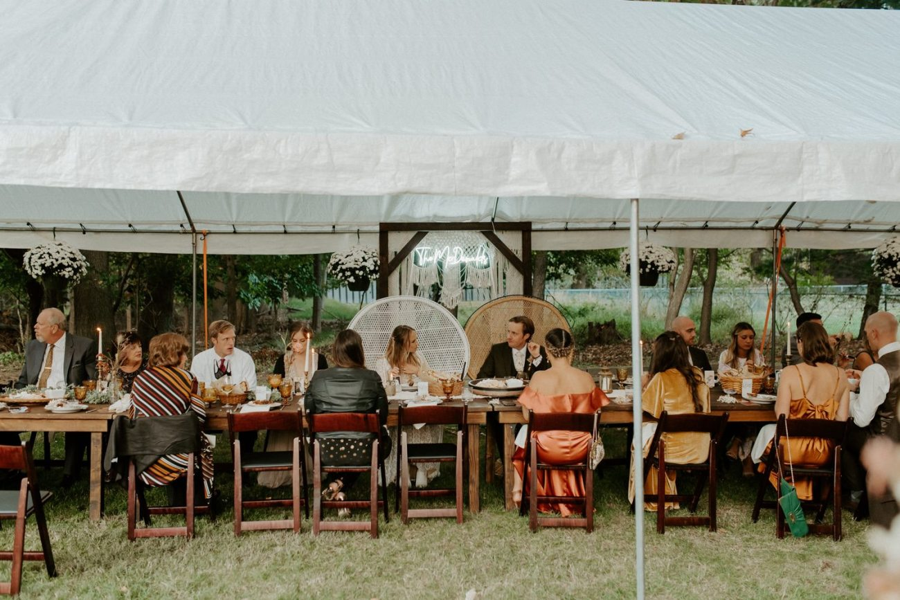 Vintage Boho Diy Backyard Wedding In New Jersey Anais Possamai Photography 111