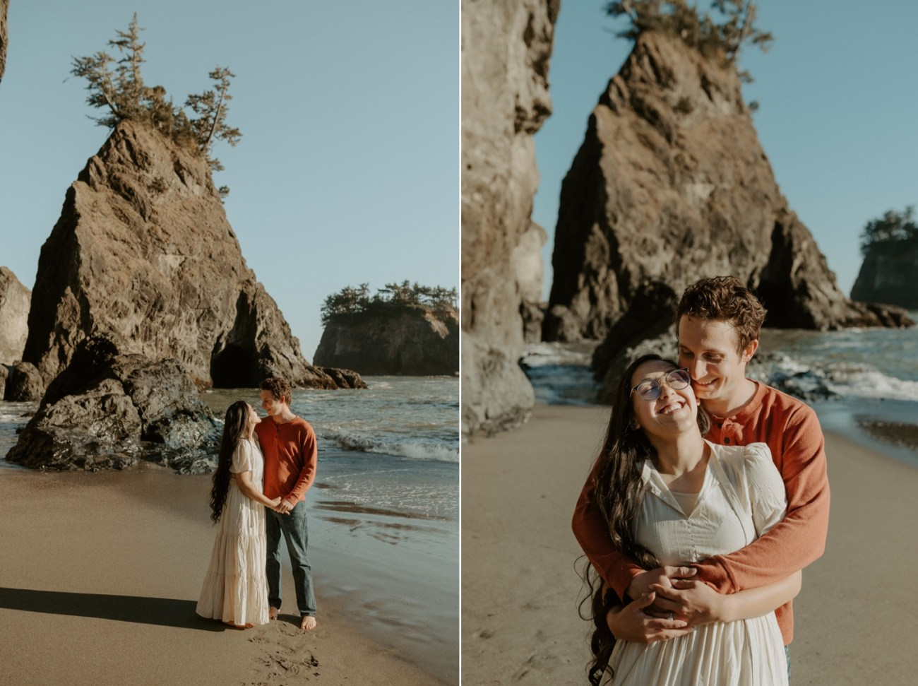 Oregon Coast Brookings Engagement Session Anais Possamai Photography 10