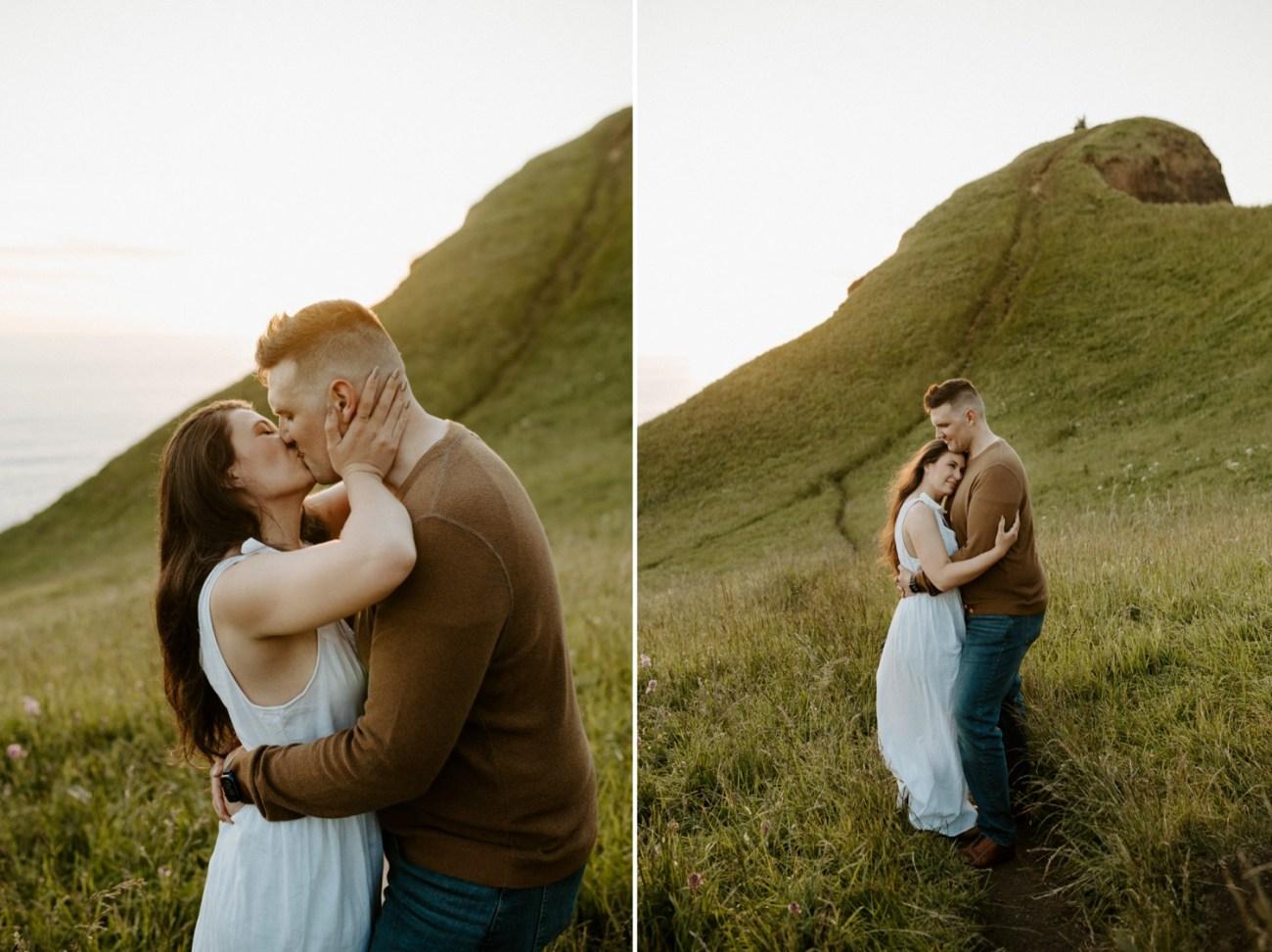Oregon Coast Gods Thumb Engagement Session Bend Oregon Wedding Photographer Anais Possamai Photography 24