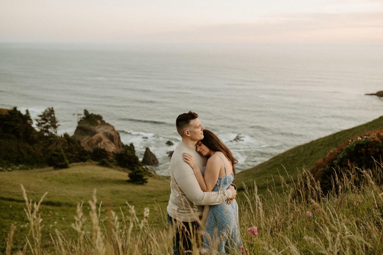 Oregon Coast Gods Thumb Engagement Session Bend Oregon Wedding Photographer Anais Possamai Photography 47