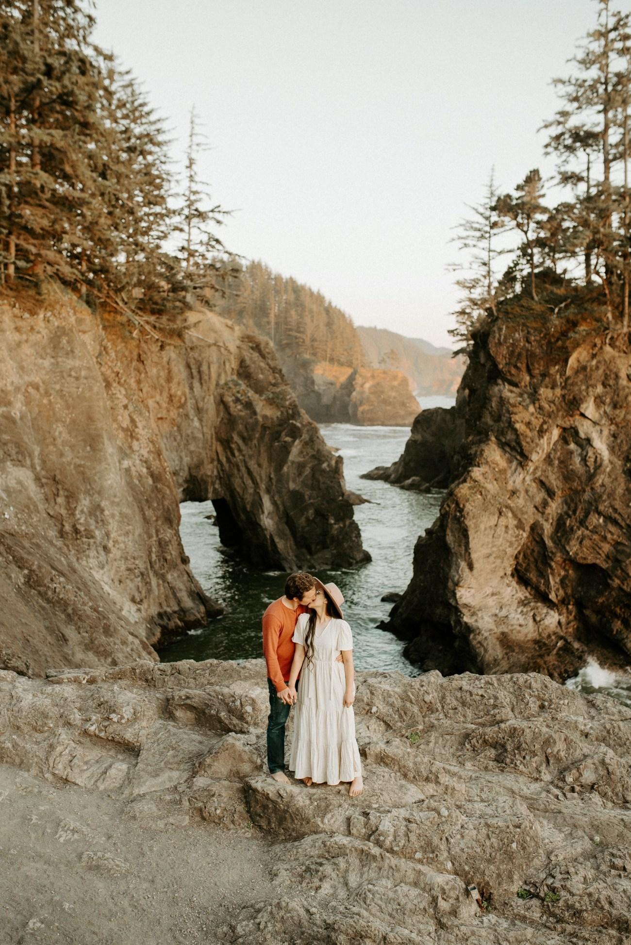 Oregon Coast Samuel H Boardman Engagement Session Anais Possamai Photography 20