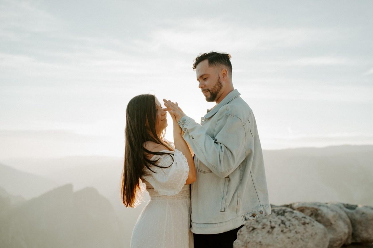 Yosemite Taft Point Engagement Session California Wedding Photographer Anais Possamai Photography 21