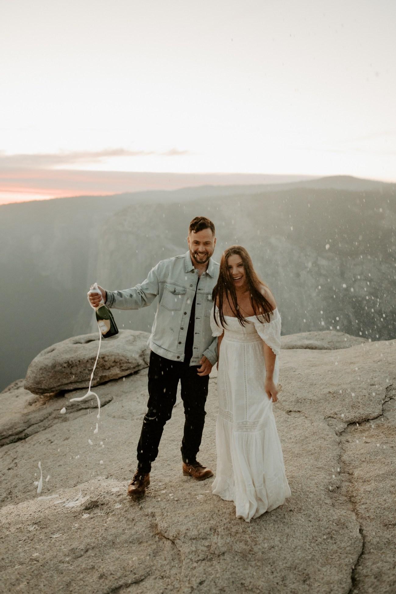 Yosemite Taft Point Engagement Session California Wedding Photographer Anais Possamai Photography 45