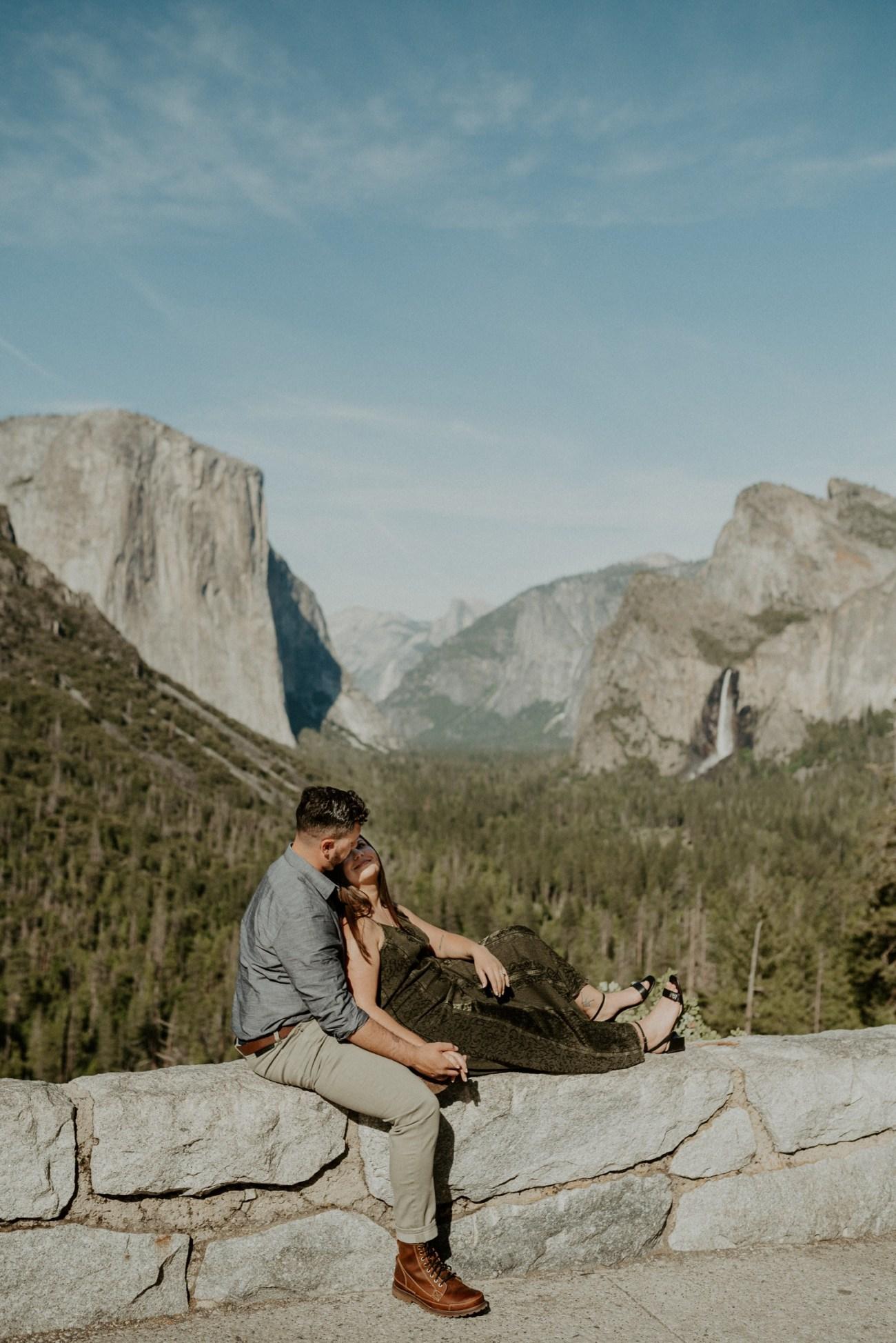 Yosemite Tunnel View Engagement Session Yosemite Wedding Photographer Anais Possamai Photography 02