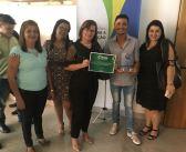 Prefeita Jacy Barros recebe no TCM o Selo Verde Município 100% Transparente