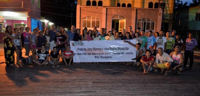 Prefeitura de Anajás promove Ação Cidadania para os ribeirinhos