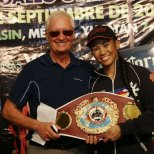Posing with my Promoter Allan Tremblay