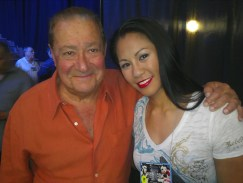 Legendary Top Rank Promoter, Bob Arum & I