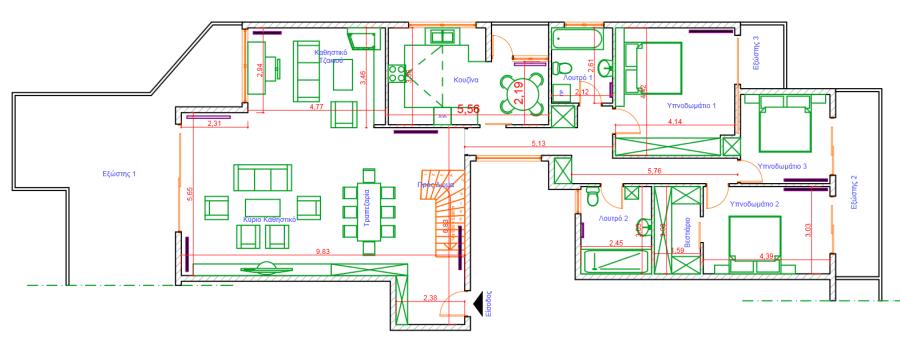 αρχιτεκτονικα-σχεδια-σχεδιαση-σπιτιου