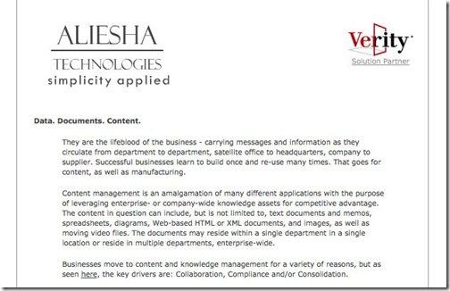 -- Welcome to Aliesha Technologies Online --