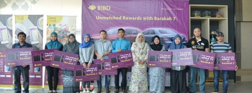 Group Photo of BIBD Barakah 7 Winner