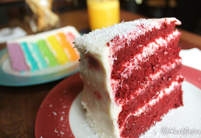 Red Velvet Rainbow Cakes At Jakarta Part 3 Anakjajancom