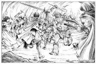 Book illustration for Midgard-Online Editions (WW07)