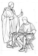 Römermuseum Osterburken - Roman physician ans scribe (20)