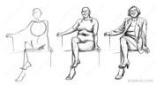 Pose construction based on skeleton sketch (11).