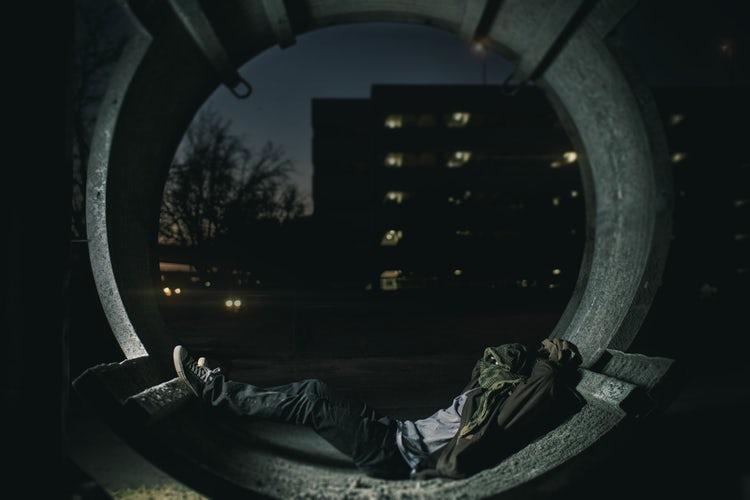 Ilustrasi salah satu sudut kemiskinan di amerika serikat