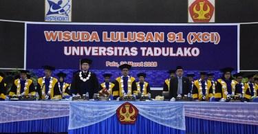 Jadwal Pelaksanaan Wisuda ke-92 Universitas Tadulako