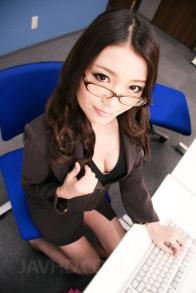 See porno photos from flick Ibuki Japanese in office suit is nailed from behind in pinkish crevasse
