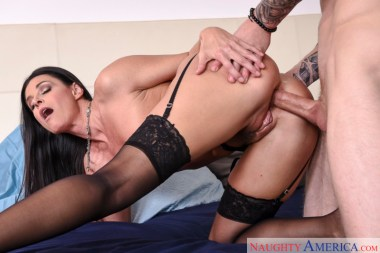 India Summer smashing in the bedroom with her tattoos in My Friend's Hot Mom
