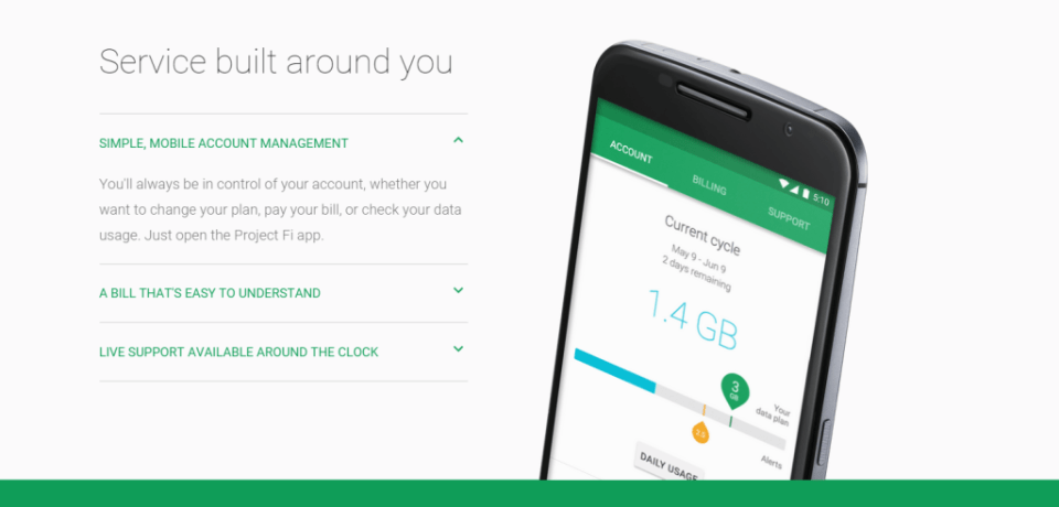 Google Project Fi - service- Analie Cruz