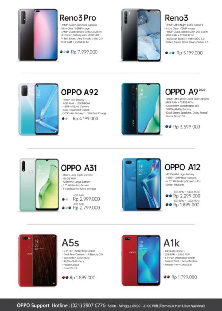 Oppo a5 ram 4gb garansi resmi fullset (3iwefa2) (3iwefa2). Daftar Harga HP Oppo Bulan Juni 2020 | Analisa Aceh