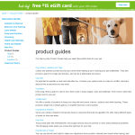 Petco.com Product Guides