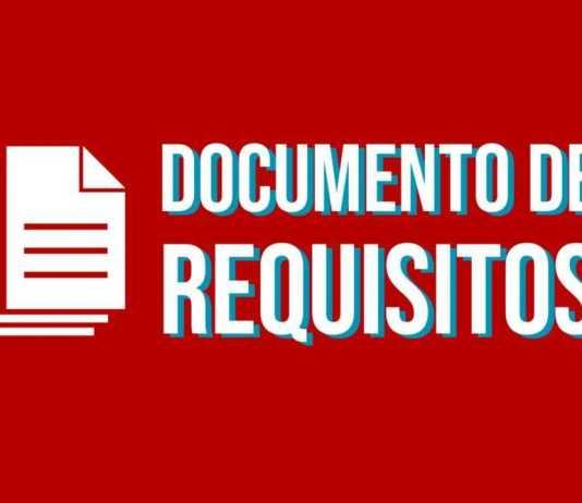 documento de especificacao de requisitos modelo