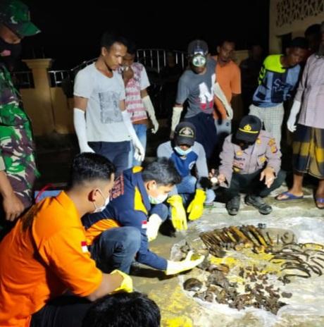 Kerangka di Aceh Timur Ternyata Ayah dan Anak
