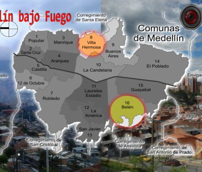 Recrudecen enfrentamientos armados en Medellín. ¿Qué presagia esto?