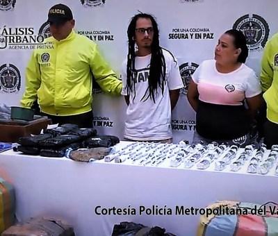 En Robledo, comuna 7, Policía se incautó de 123 kilos de marihuana del combo Villa Flora