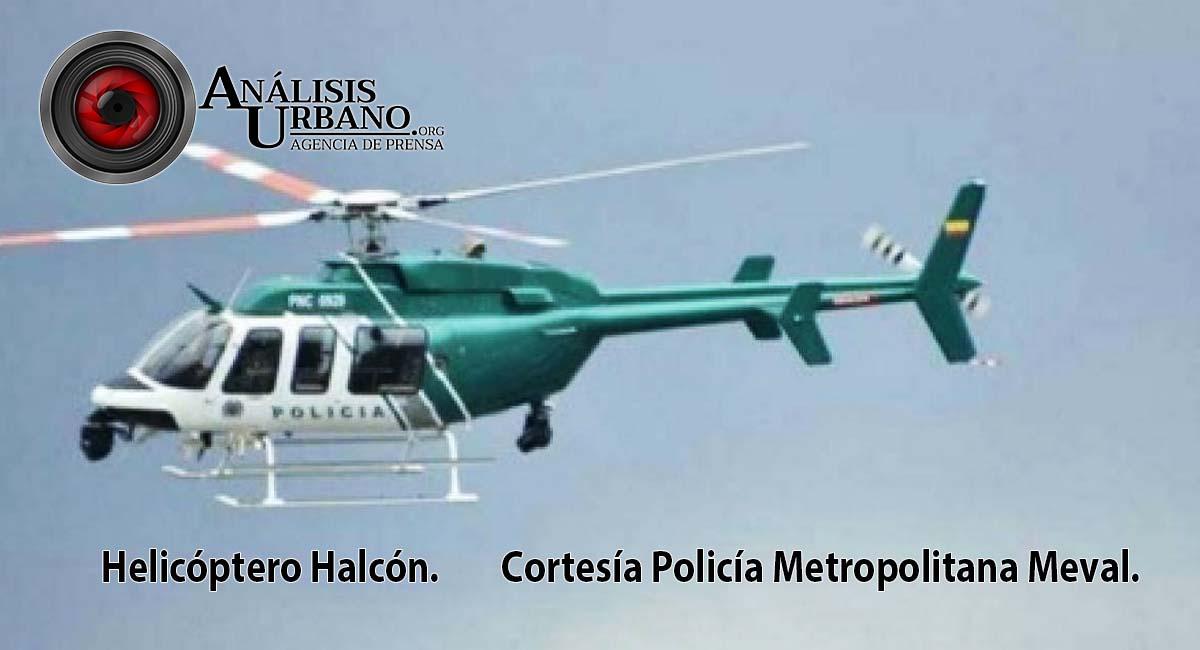 Con ayuda del helicóptero Halcón fueron capturados tres expendedores de droga en Manrique