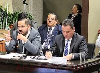Dip. Ernesto Cuevas preside comparecencia de SIOP