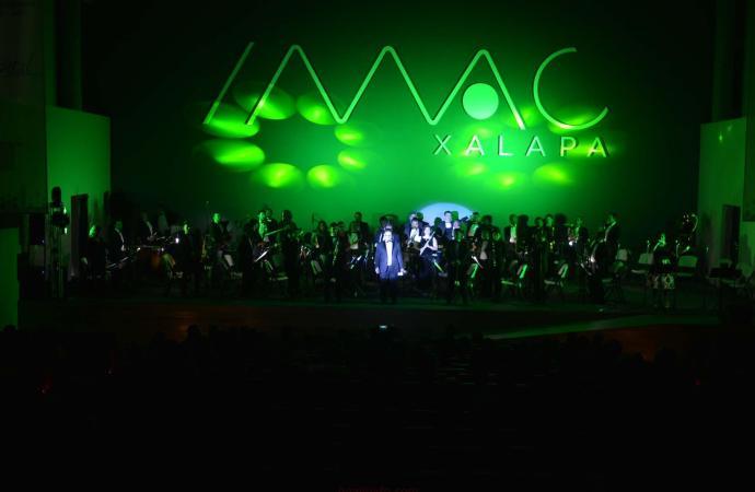 Ofreció Orquesta Municipal de Xalapa el Concierto sin fronteras, en el IMAC