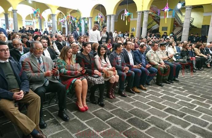 RINDE ALCALDE RICARDO PALACIOS TORRES EL CUARTO INFORME DE GOBIERNO MUNICIPAL.