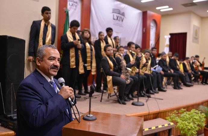 """La """"Orquesta Sinfónica Inclusiva de Veracruz"""" se presenta en el Congreso"""