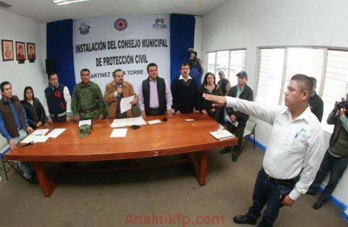 Toma protesta Consejo Municipal de Protección Civil