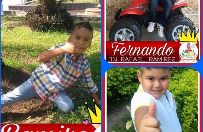CANDIDATOS A REY INFANTIL DE LA FERIA DE LA CANDELARIA 2018 DE SOLEDAD DE DOBLADO