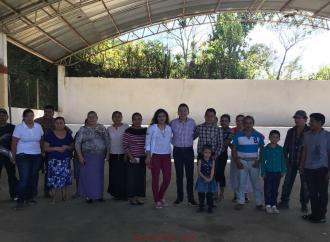 Se movilizan jóvenes del distrito de Martínez de la Torre
