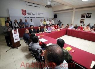 AYUNTAMIENTO OFRECE TALLER A EMPRENDEDORES DE POZA RICA