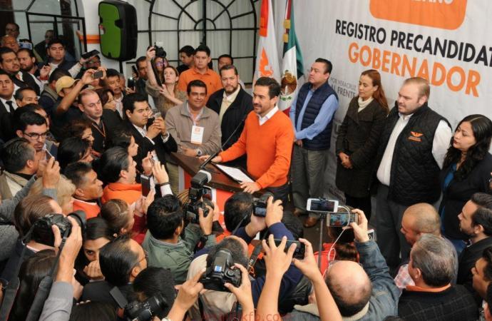 Movimiento Ciudadano registra a Miguel Ángel Yunes Márquez