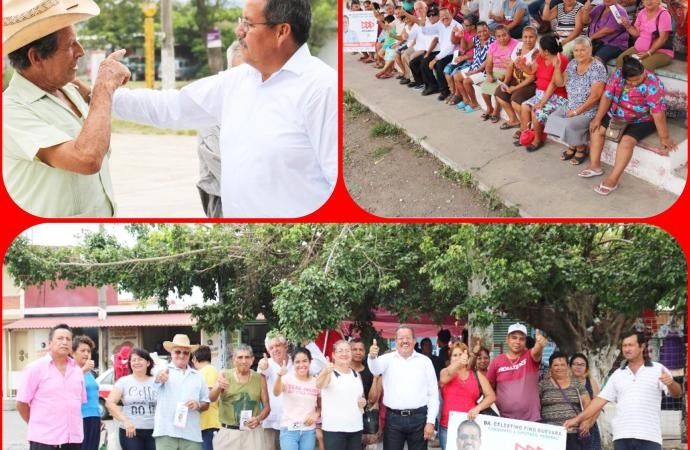 Impulsaremos el desarrollo agropecuario en Vega de Alatorre: Celestino Pino Guevara