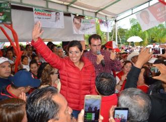 Llama Linda Rubí a la población a salir a votar el domingo por el PRI