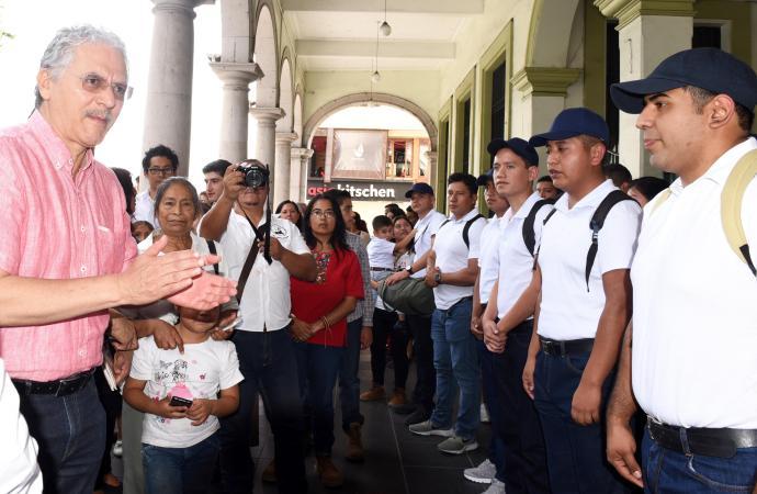 Necesitamos regresar la seguridad a la ciudad: Hipólito Rodríguez