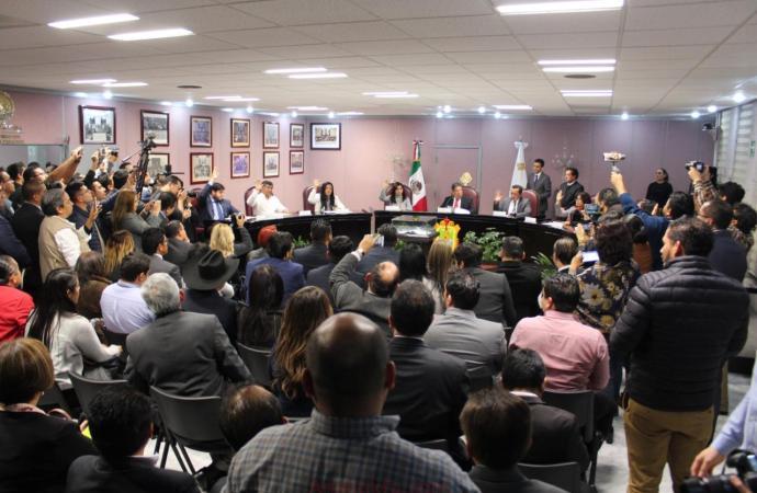Preside Morena Diputación Permanente