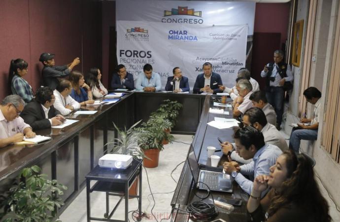Metropolización detonaría desarrollo regional en Veracruz: Omar Miranda