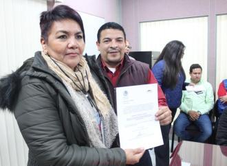 Diputados de Morena, entregan nombramientos a integrantes del Consejo Estatal Ciudadano